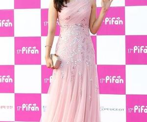 actress, flowers, and korea image