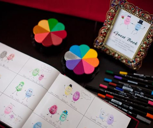 wedding and guest book image