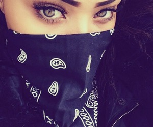 girl, eyes, and dope image