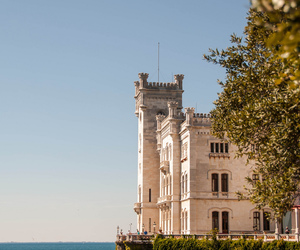 italy, sea, and castle image