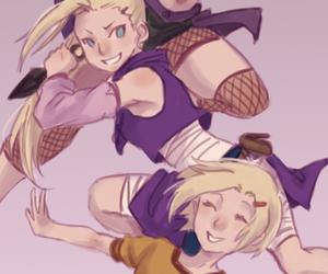 naruto shippuden, ino yamanaka, and naruto girls image