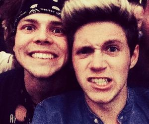 niall horan, ashton irwin, and one direction image