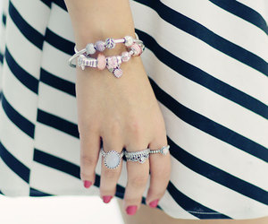 bracelet, colors, and nails image