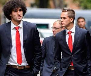 red devils, marouane fellaini, and adnan januzaj image