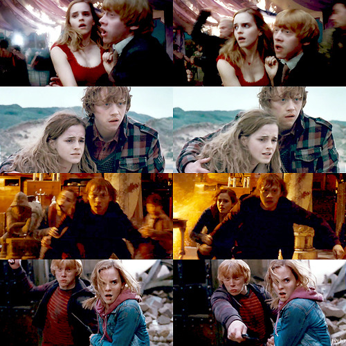Hermione story weasley love ron and granger Why Did