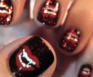 fingers, nail, and nail polish image