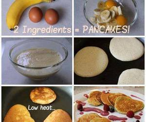healthy snack, healthy recipe, and healthy pancakes image