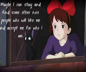 anime, film, and quote image