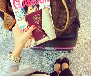 airport, fashion, and glamour image