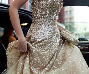 beautiful, formal, and glitter image