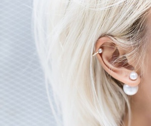 accessories, blonde, and style image
