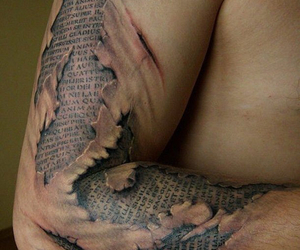 3d, arm, and tattoo image