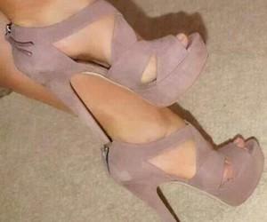 beautiful, fashion, and high heels image