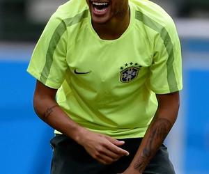smile, neymar, and brazil image