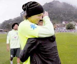 david luiz, neymar, and brazil image