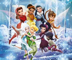 disney, Fairies, and tinkerbell image