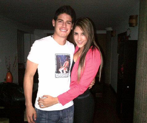 couple, love, and james rodriguez image