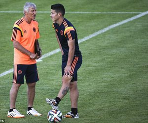 coach, football, and james rodriguez image