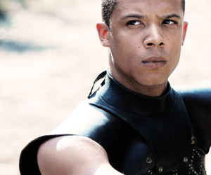game of thrones and grey worm image