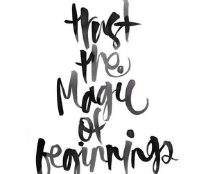 quote, magic, and life image