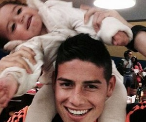 james rodriguez, 10, and baby image