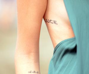 chiara ferragni, tatoo, and fashion image