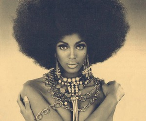 Afro, icon, and Naomi Campbell image