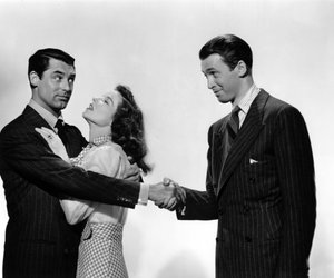 cary grant, katherine hepburn, and the philadelphia story image