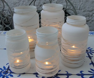 velas and frascos decorados image
