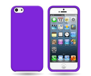 iphone, purple, and phone case image
