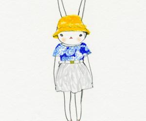 bunnies, fashion, and fifi lapin image