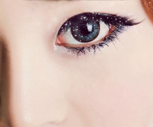 asian, eye, and fashion image