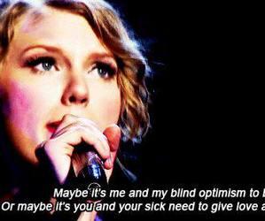 dear john, song, and Taylor Swift image