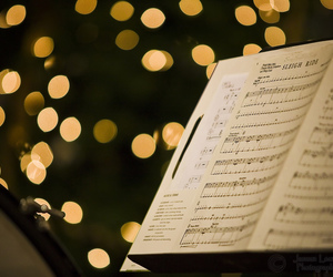 background, classical, and sheet music image