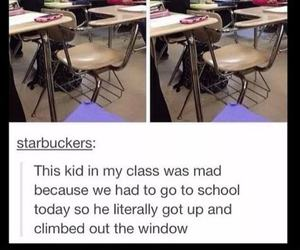 class, mad, and tumblr image