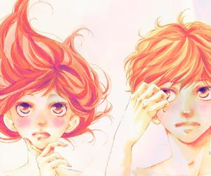 manga, touma, and futaba image