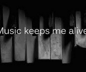 music, alive, and piano image