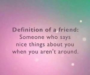 definition, friend, and quote image
