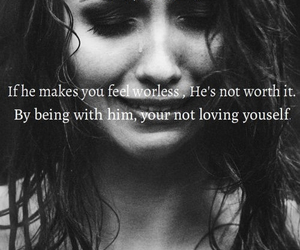girl, hurt, and quote image