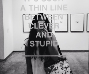 quotes, clever, and stupid image