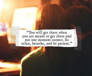 quote, life, and relax image