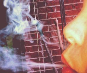 cigarette, smoke, and me image