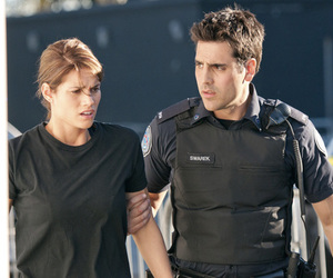 missy peregrym, rookie blue, and love image