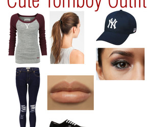 clothes, outfit, and tomboy image