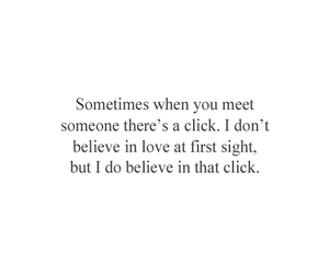 quote, love, and click image