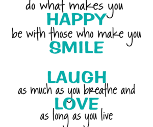 girl, happy, and love image