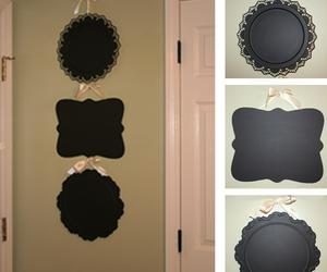 chalkboard, craft, and diy image