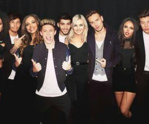 little mix, one direction, and 1d image