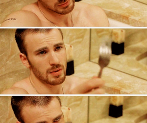 chris evans and sexy image