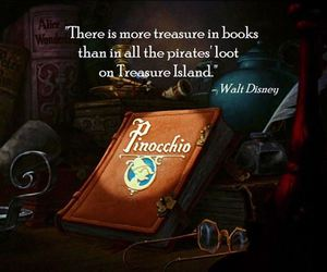 book, disney, and treasure image